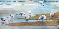 Renee-Koenig-Landscapes-Sea-Ocean-Animals-Water-Modern-Times-Realism