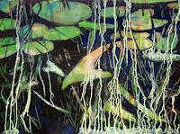 Renee-Koenig-Miscellaneous-Plants-Nature-Water-Modern-Age-Expressionism-Neo-Expressionism