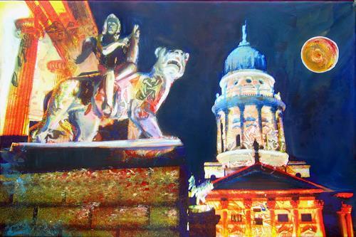 Renée König, Abends aus dem Konzert, Architecture, Miscellaneous Romantic motifs, Expressive Realism
