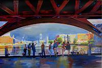 Renee-Koenig-Miscellaneous-Buildings-Miscellaneous-Romantic-motifs-Modern-Age-Impressionism-Post-Impressionism