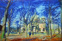 R. König, Berliner Dom in der Märzsonne