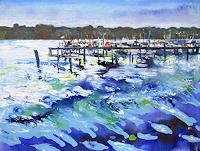 Renee-Koenig-Landscapes-Sea-Ocean-Nature-Water-Modern-Age-Expressive-Realism