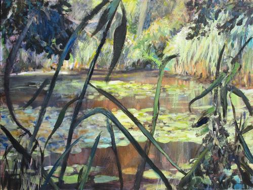 Renée König, Sommerfeeling, Landscapes: Summer, Realism