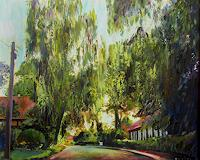 Renee-Koenig-Landscapes-Summer-Interiors-Villages-Modern-Age-Impressionism-Post-Impressionism