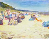 Renee-Koenig-Leisure-Landscapes-Summer-Modern-Age-Impressionism-Post-Impressionism