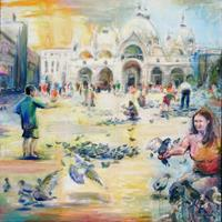 Renee-Koenig-Miscellaneous-People-Buildings-Churches-Modern-Age-Impressionism-Post-Impressionism