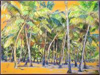 Renee-Koenig-Landscapes-Tropics-Miscellaneous-Romantic-motifs-Modern-Age-Expressive-Realism