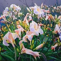 Renee-Koenig-Plants-Flowers-Romantic-motifs-Sunset-Modern-Times-Realism