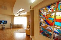 V. Chernilevsky, stained-glass window