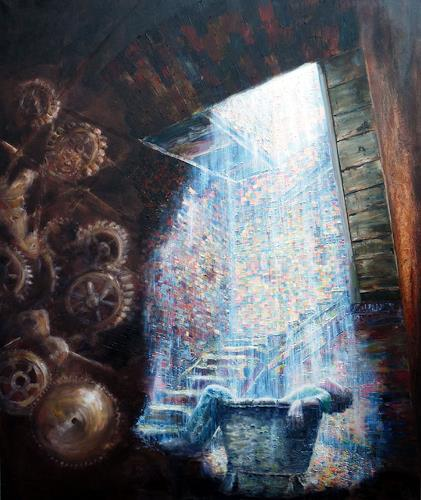 artep-gnitlon, Safty..., Fantasy, Miscellaneous Buildings, Surrealism, Abstract Expressionism