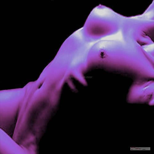 MartinusLinzer, Violet, Erotic motifs: Female nudes, Erotic motifs: Female nudes, Contemporary Art, Abstract Expressionism