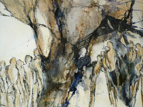 Monika Ostheimer, People, People: Group, Abstract art, Abstract Art