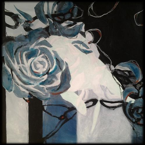 Monika Ostheimer, Blüten I, Miscellaneous, Contemporary Art