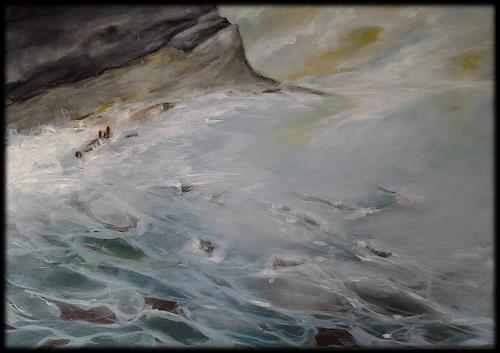 Monika Ostheimer, Küste, Landscapes, Nature, Contemporary Art