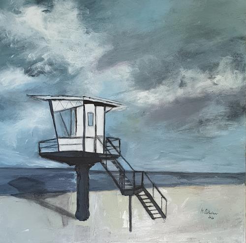 Monika Ostheimer, Wegträumen, Landscapes, Fantasy, Contemporary Art