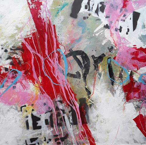 Monika Ostheimer, Frühlingsgefühle, Abstract art, Emotions, Contemporary Art, Abstract Expressionism