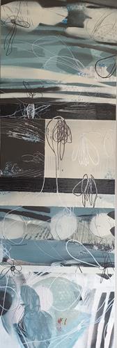 Monika Ostheimer, Hinaus ins Grüne!, Abstract art, Nature, Contemporary Art