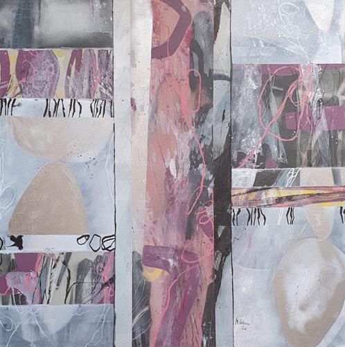 Monika Ostheimer, Fly, little bird!, Abstract art, Fantasy, Contemporary Art