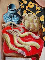 Ken-Dowsing-Harvest-Meal-Modern-Age-Expressionism