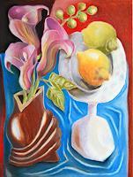 Ken-Dowsing-Still-life-Still-life-Modern-Age-Expressionism