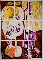 Ken-Dowsing-Still-life-Meal-Modern-Age-Expressionism