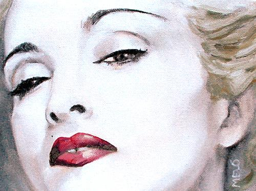 Meló, Madonna, People: Women, People: Faces, Realism, Expressionism