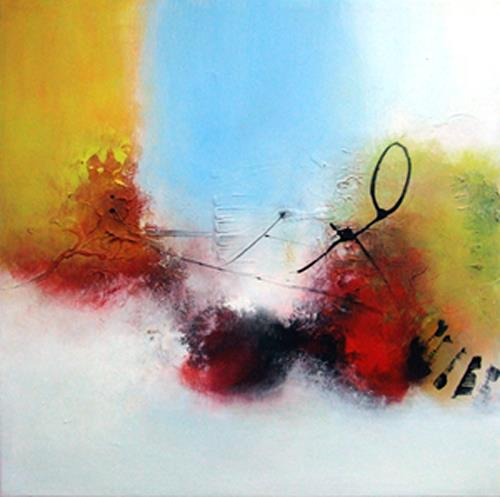 Stiane, Die Reise, Abstract art, Abstract art, Modern Age