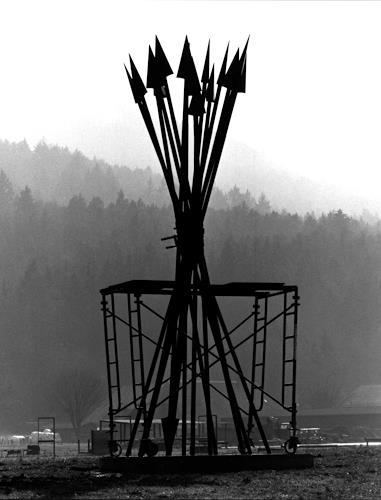 Jean-Marc Gaillard, Pfeilbündel, Miscellaneous, War, Dadaism, Abstract Expressionism