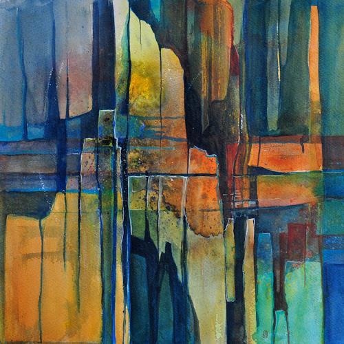 Daniel Gerhard, Splitter, Fantasy, Poetry, Expressionism
