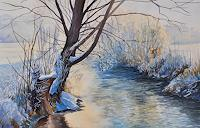 Daniel-Gerhard-Landscapes-Winter-Nature-Water-Modern-Age-Abstract-Art