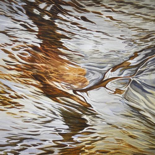 Daniel Gerhard, Suhrewasser, Nature: Water, Nature: Rock, Abstract Art, Abstract Expressionism