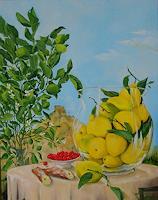 Werner-Fink-Still-life-Landscapes-Summer-Modern-Age-Naturalism
