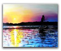 Burgstallers-Art-Landscapes-Sea-Ocean-Modern-Times-Realism