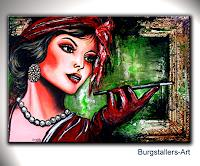 Burgstallers-Art-People-Faces-People-Women-Contemporary-Art-Contemporary-Art