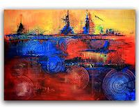 Burgstallers-Art-Abstract-art-Abstract-art-Modern-Age-Abstract-Art-Action-Painting