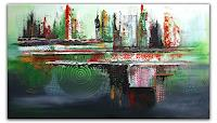 Burgstallers-Art-Abstract-art-Fantasy-Modern-Age-Abstract-Art-Action-Painting