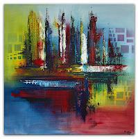 Burgstallers-Art-Abstract-art-Interiors-Cities-Modern-Age-Abstract-Art