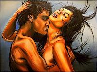 Burgstallers-Art-Nude-Erotic-motifs-People-Faces-Modern-Age-Modern-Age
