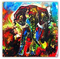 Burgstallers-Art-Animals-Land-Abstract-art-Contemporary-Art-Contemporary-Art