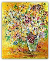 Burgstallers-Art-Plants-Flowers-Abstract-art-Modern-Age-Abstract-Art