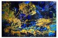 Burgstallers-Art, Korallen Gemälde Malerei Acrylbild 120x80x2cm - 2020