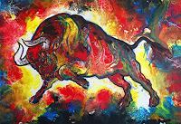 Burgstallers-Art-Abstract-art-Animals-Land-Contemporary-Art-Contemporary-Art