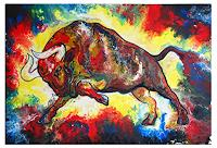Burgstallers-Art-Abstract-art-Animals-Modern-Age-Abstract-Art