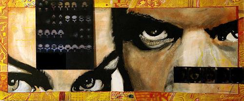 Frank Dimitri Etienne, Röntgenblick, Society, Pop-Art