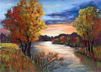 Conny, Herbstlandschaft in pastel
