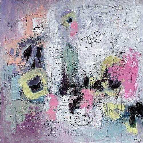 Conny, N/T, Abstract art, Emotions: Joy, Action Painting