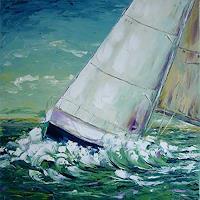 C. Hansen, Regatta II - Mainsail