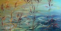 Claudia-Hansen-Landscapes-Sea-Ocean-Nature-Water-Modern-Age-Impressionism-Post-Impressionism