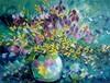 Claudia Hansen, Blumenrausch mit Iris