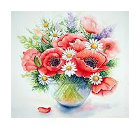 Maria-Inhoven-Plants-Flowers-Still-life-Modern-Age-Naturalism